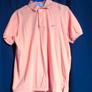 Southern Tide Skipjack Heathered Polo - Medium
